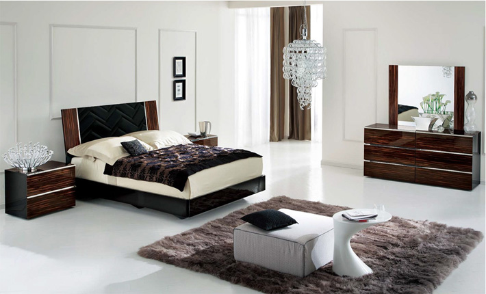 The Alf Group Tuscany 5-Piece Bedroom Set,part of the Alf Group, a new collection of modern dining sets and bedroom sets.