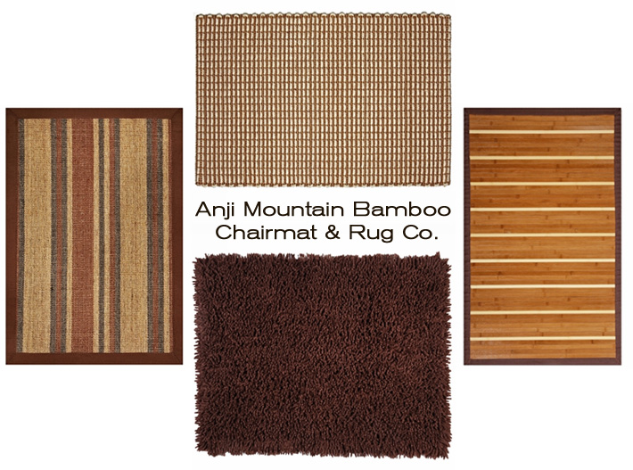 Shop stylish and eco-friendly rugs from Anji Mountain Bamboo Chairmat and Rug Company, now available at Inmod.