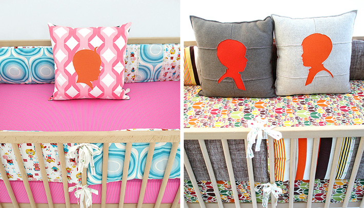 Brighten up your children's rooms with colorful bedding from Aunt Bucky, new at Inmod! 