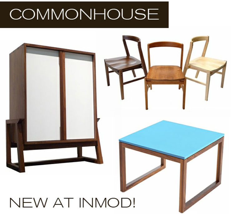 Take a look at Commonhouse Furniture - a new line of modern furniture now available at Inmod.com! 