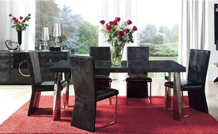 From modern dining furniture to bedroom sets, the Dupen Collection offers quality modern furniture to fit your modern home.