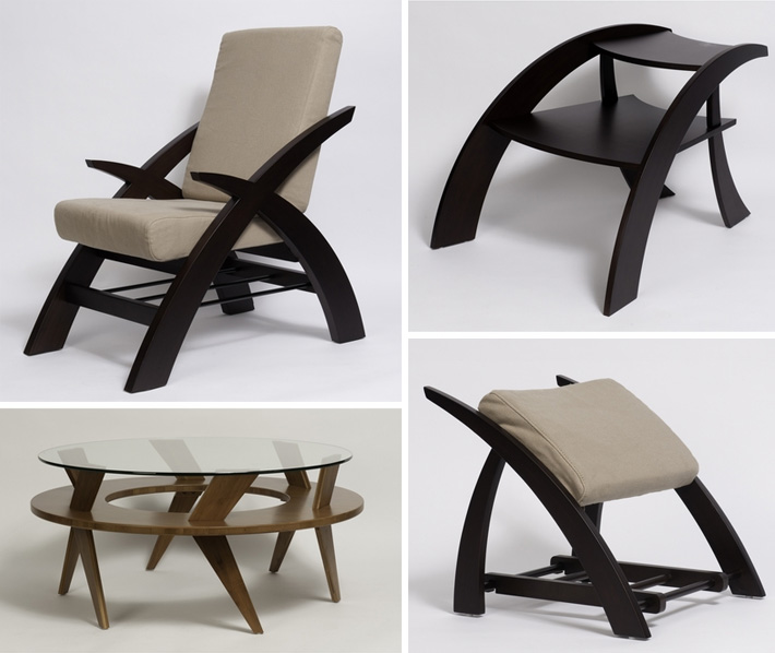 Introducing Earth's Friend Furniture, a new line of modern, eco-friendly furniture now available at Inmod.com!