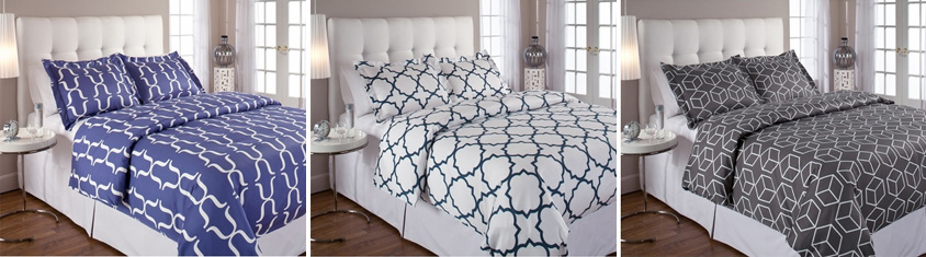 Check out Echelon, a new line of modern bedding now available at Inmod! 