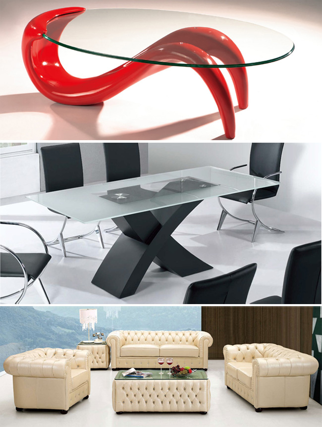 Completely furnish your living room and dining room with all of the modern furniture the EuroMod Collection has to offer! 