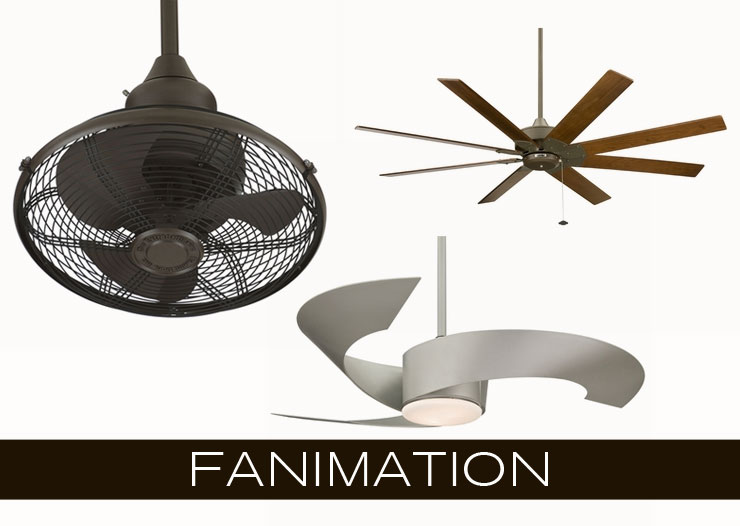 Fanimation is an extensive line of modern fans, now available at Inmod!