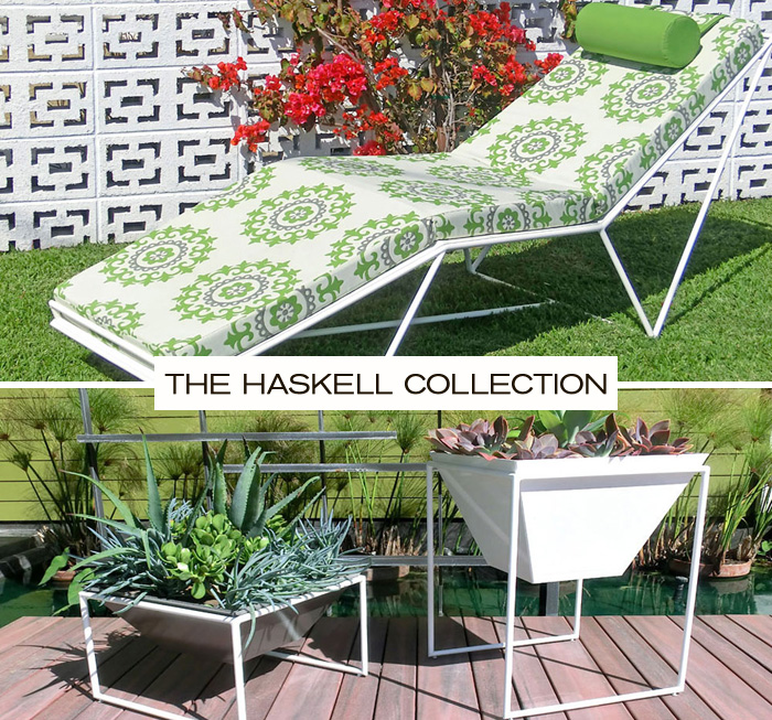 The Haskell Collection - a new collection of modern outdoor furniture available at Inmod.com! 