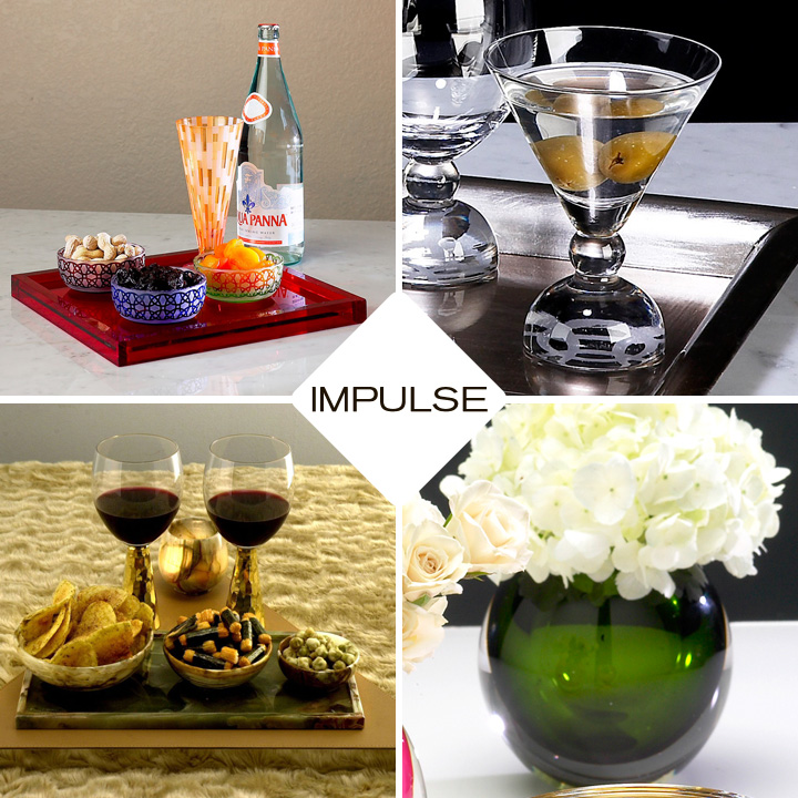 Impulse is a new line of modern home accesories and decor available at Inmod.com