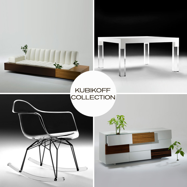 Check out the Kubikoff Collection by Gruppo Seccio, a new line of modern furniture available at Inmod! 