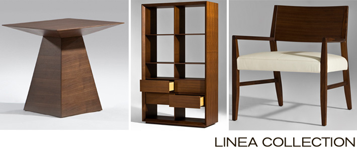 The Linea Collection, a new line of modern furniture now available at Inmod.com.