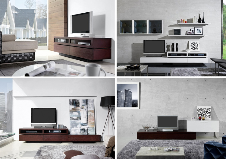 The B2B Collection - a collection of modern entertainment centers, now available at Inmod. 