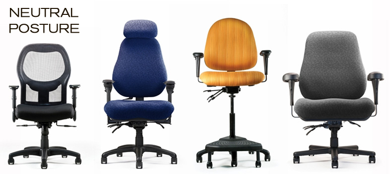 Find the ideal ergonomic office chair from Neutral Posture, now available at Inmod.