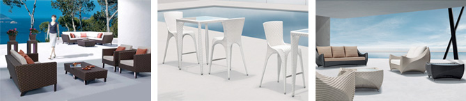 A new collection of modern outdoor furniture from Nuevo now available at Inmod.com!