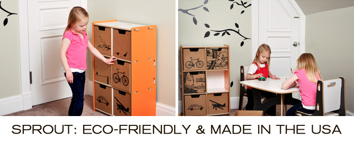Take a look at Sprout, a new collection of modern kids furniture now available at Inmod.com!