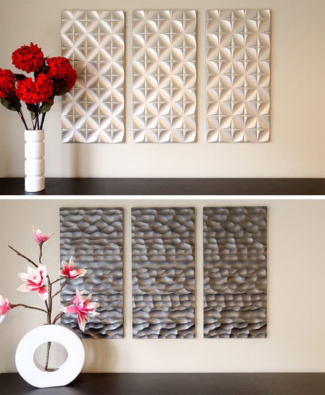 Add some texture to your decor with Textur3d Wall Panels, new at Inmod.com!