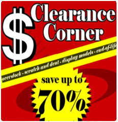 Clearance Corner