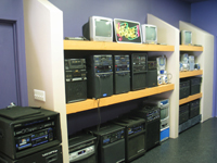 All-In-One Systems on display.