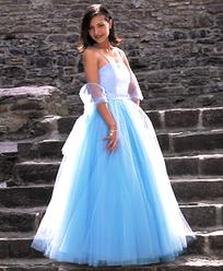 cheap prom dresses - Plus size prom dresses - blue prom dresses