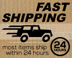 Most orders ship within 24 hours!