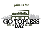 Go Topless Day 2016