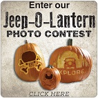 Jeep-O-Lantern Carving 2016 Photo Contest