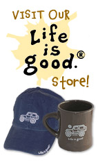 Life is good Jeep Clothing & Tire Covers