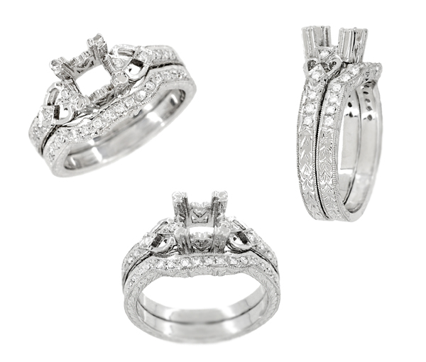 wedding ring brackets
