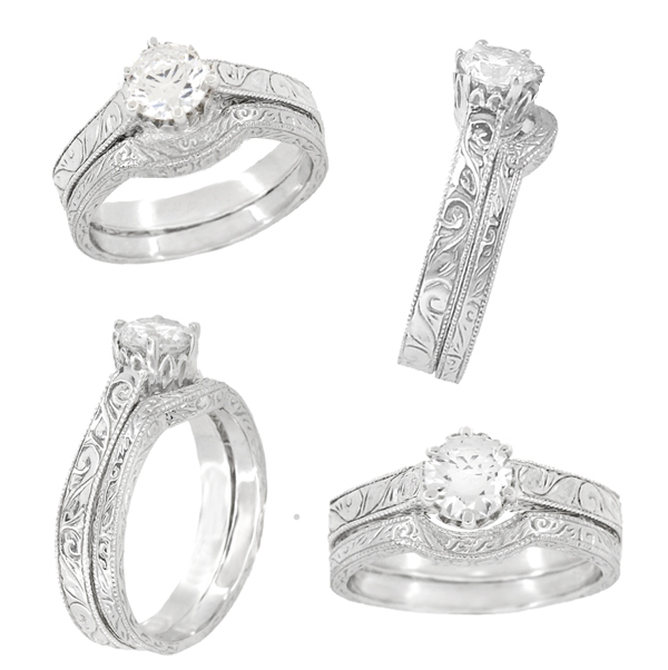 CLICK HERE to view a photo of this gorgeous engagement ring setting with the