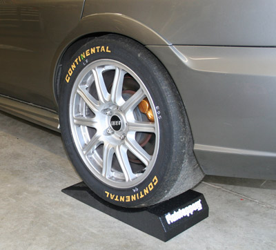 Flatstoppers 10 Inch Tire Supports help prevent flat spots on the tires of stored vehicles.