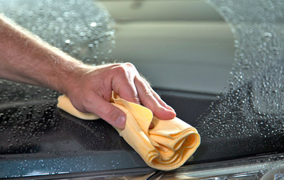 Absorber XL dries cars quickly and easily!