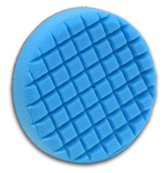 Cross Groove Blue Finessing Final Finishing Flex Foam Buffing Pad