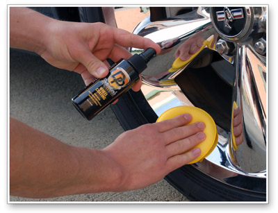 Detailer's Wheel Coating is incredibly easy to apply