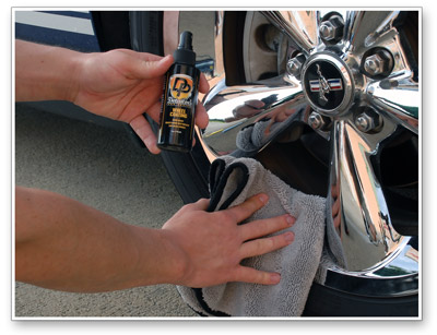 Detailer's Wheel Coating lasts up to one year!