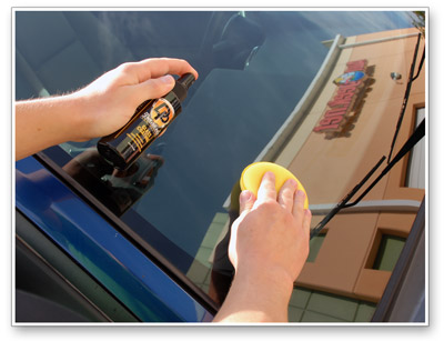Detailer's Glass Coating is incredibly easy to apply!