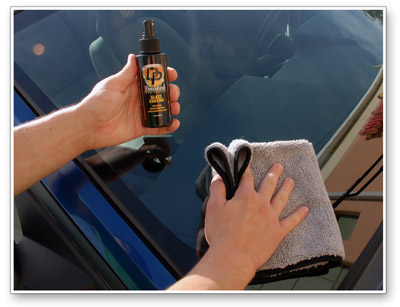Detailer's Glass Coating lasts up to one year!