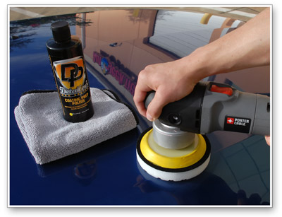Detailer's Coating Prep Polish enhances gloss and prepares paint for application of a coating