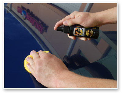 Detailer's Paint Coating is incredibly easy to apply!