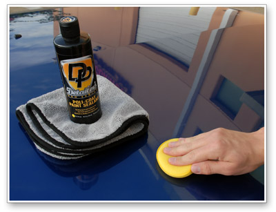 Detailer's Poli Coat Paint Sealant is effortless to remove
