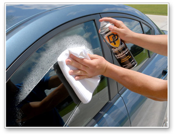 Detailer's Krystal Vision Glass Cleaner Aerosol is incredibly easy to use!