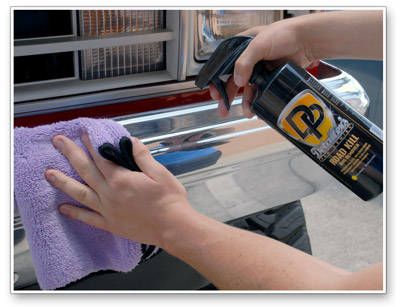 Detailer's Road Kill Bug Remover is even safe on plastic and glass!