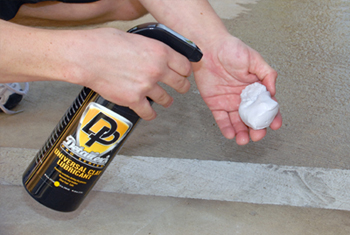 Spray Detailer's Pro Series Universal Detailing Clay with DP Clay Lubricant.