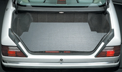 RubberTite Mats are available in gray, clear, black, and tan.