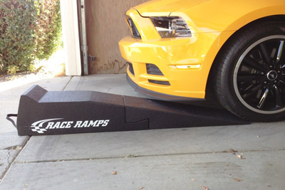 Race Ramps car service ramps are perfect for low vehicles