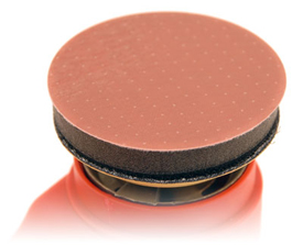 The Meguiars Unigrit Interface Pad provides cushioning and flexibility underneath the sanding disc.