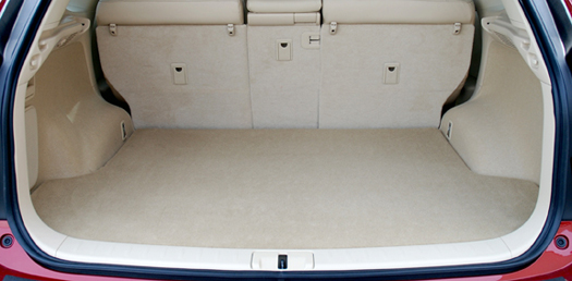 Cargo mats are available for some models.