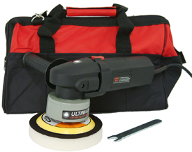 The Ultimate Detailing Machine includes a storage bag.