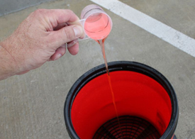 Pour 1-2 ounces of concentrate into a car wash bucket and then spray a heavy jet water to activate the suds.