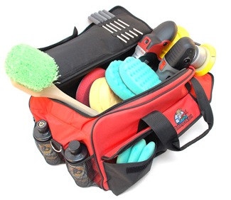The Autogeek Professional Detail Bag can swallow multiple polishers and more!