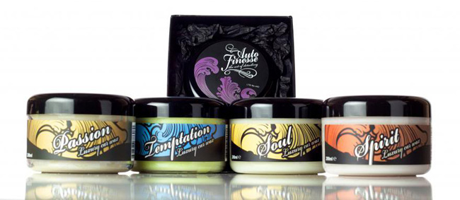 Auto Finesse manufactures a complete line of world-class car care products