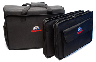 The Autogeek Executive Briefcase is configurable for all your traveling needs!