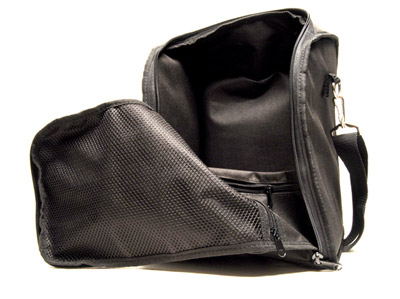 Autogeek Travel Bag has a large inner pocket for multiple bottles of product